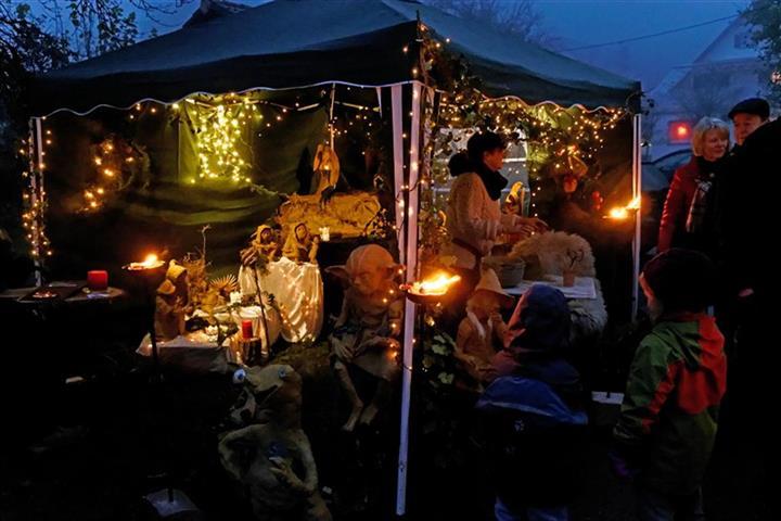 Weihnachtsmarkt in Marzell