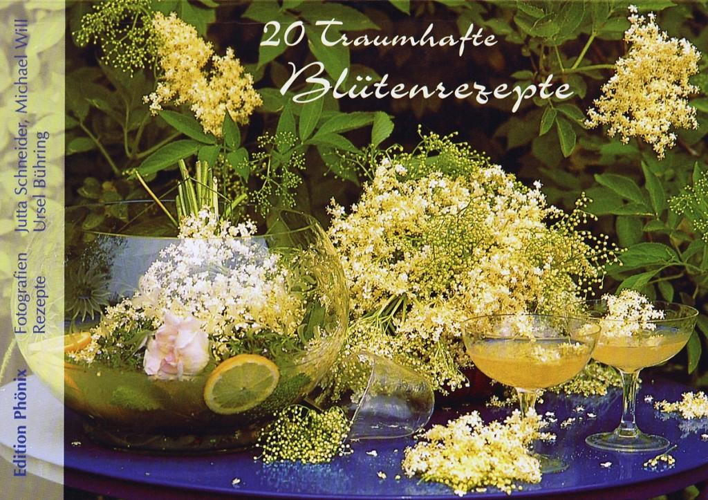 20 traumhafte Postkarten mit  Rezepten von Blüten von Blüten und Kräutern