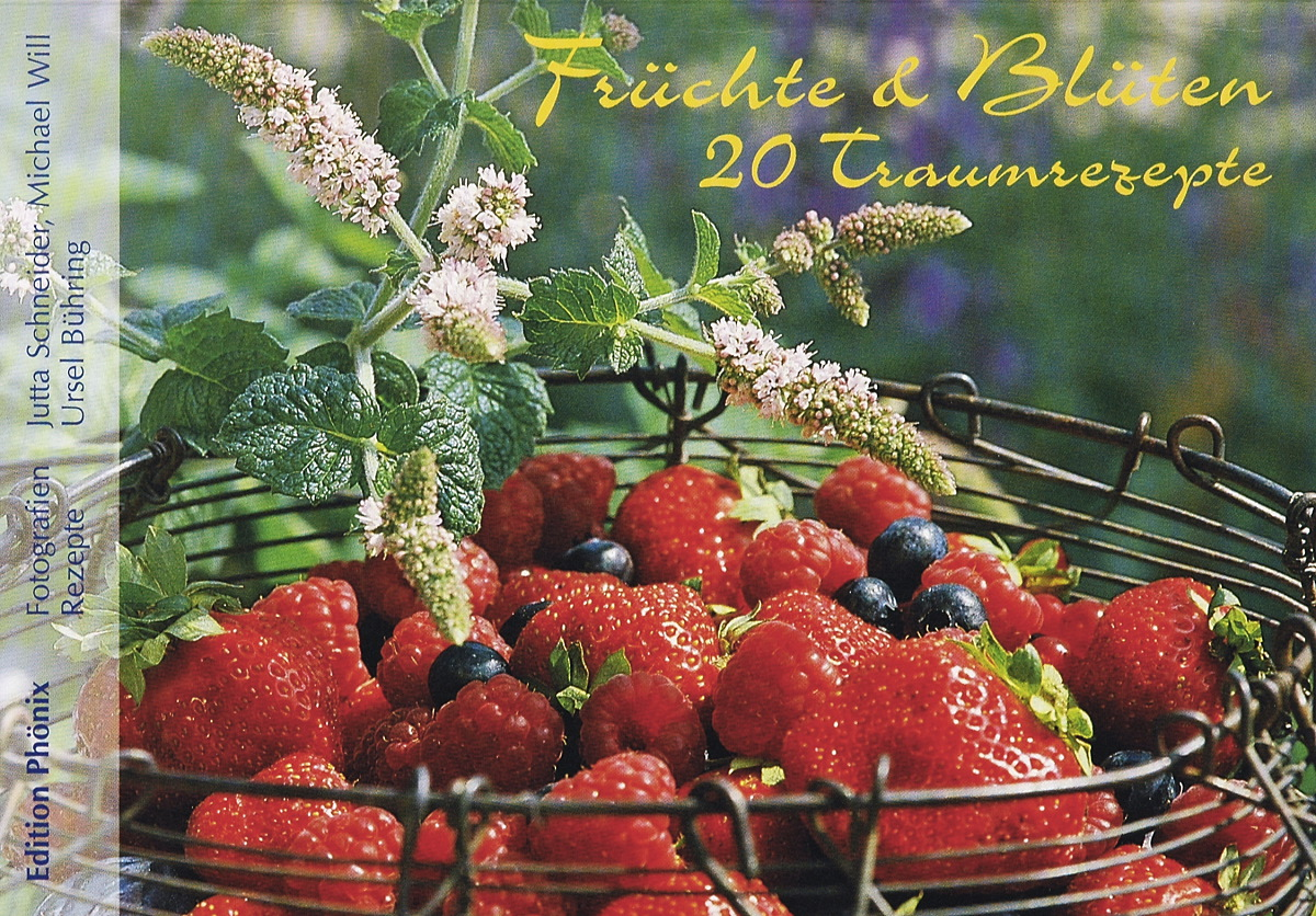 20 traumhafte Postkarten mit Früchten und Blüten