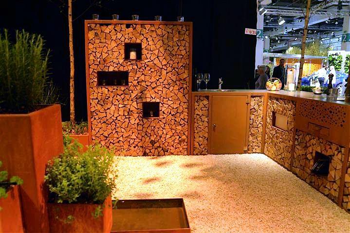 Holz Für Außenküche : Aussenküche und sitzplatz mit viel holz hannas töchter
