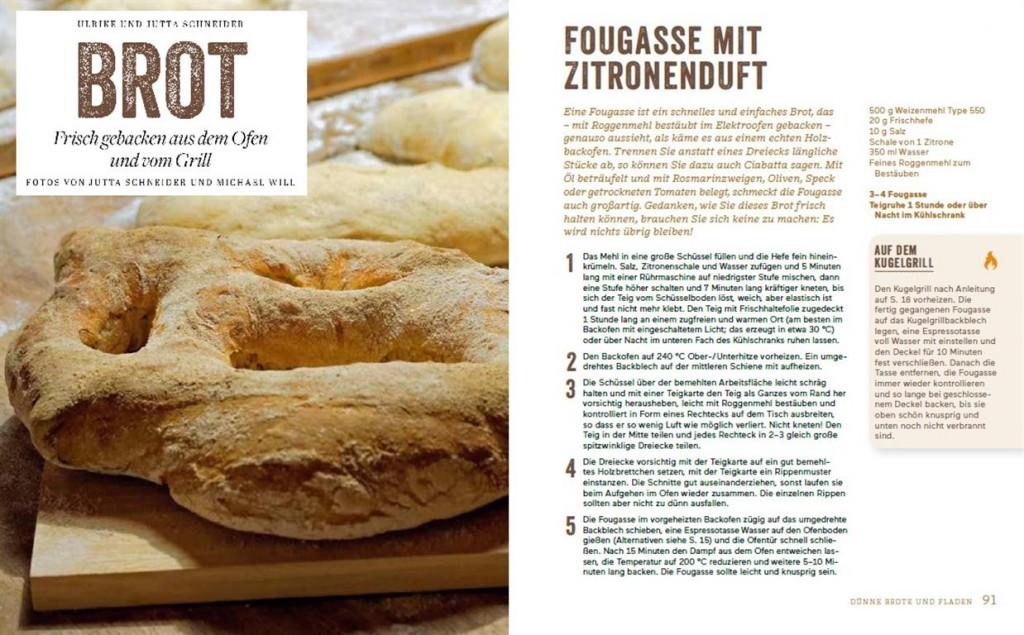 Fougasse BROT von Ulrike Schneider