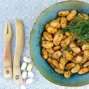 Bohnensalat mit Dill