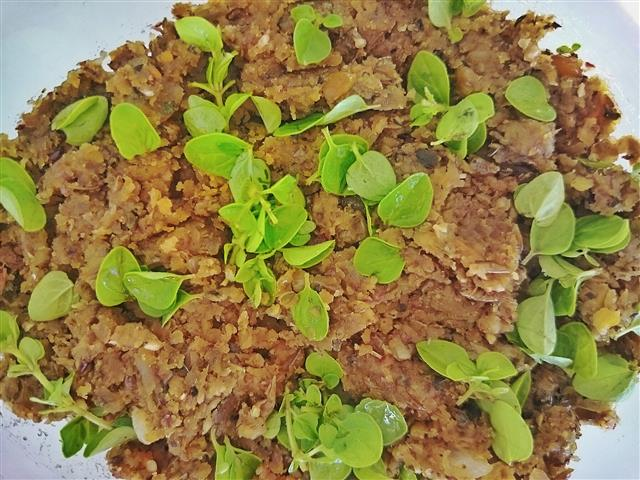 Vegane Leberwurst aus Linsen