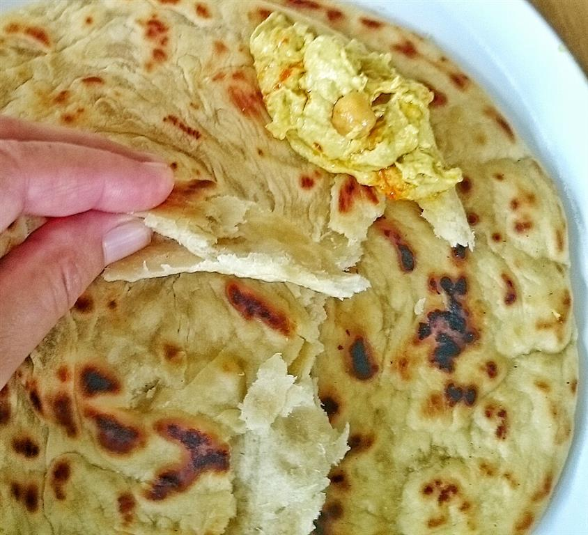 Afrikanisches Chapati