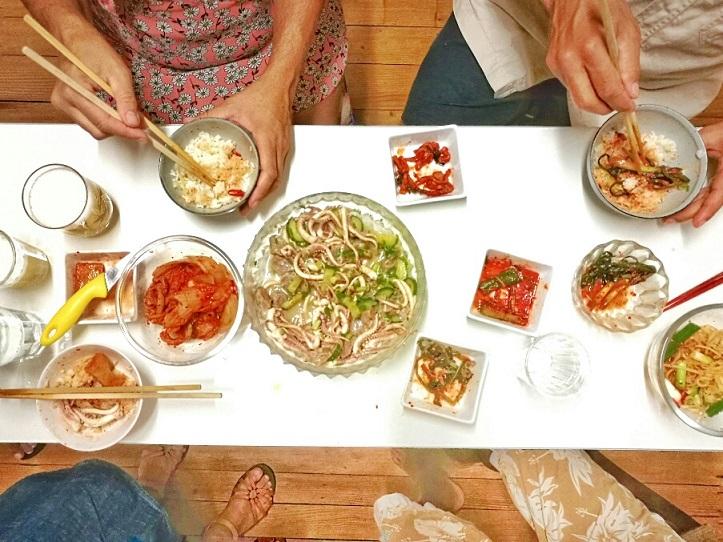 Selbst gemachtes Kimchi