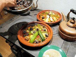 Sponsorendinner auf marokkanisch