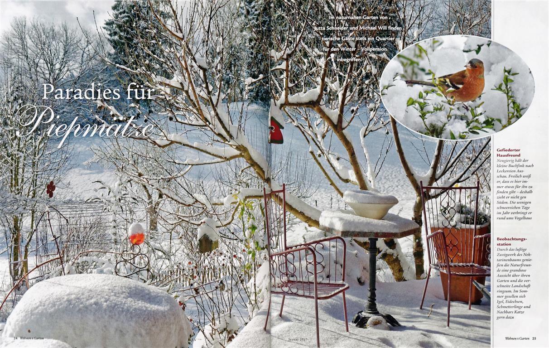 Ein Garten Auch Für Vögel